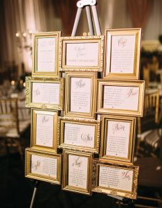 Eye catching wedding seating charts also most popular chart ideas for your day rh elegantweddinginvites