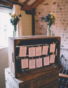Wood crate seating chart display ideas for barn weddings also most popular your wedding day rh elegantweddinginvites
