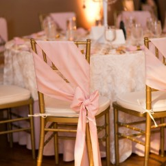Wedding Chair Covers Pinterest Blue Metal Dining Chairs 20 Creative Diy Ideas With Satin Sash