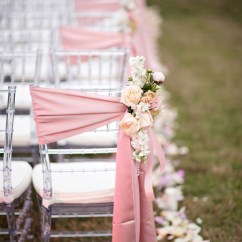 How To Make Chair Sashes Cherry Dining Chairs 20 Creative Diy Wedding Ideas With Satin Sash Gorgeous