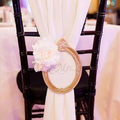 Chair Covers Ideas For Weddings Lenoir Company 20 Creative Diy Wedding With Satin Sash – Elegantweddinginvites.com Blog