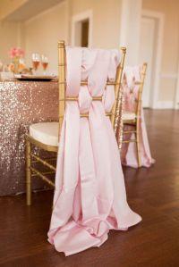 20 Creative DIY Wedding Chair Ideas With Satin Sash ...