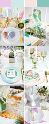 Wedding Table Setting Decoration Ideas for Reception ...