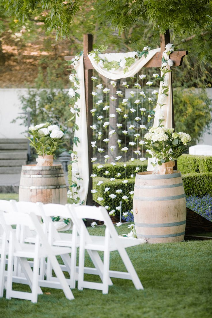 25 Chic and Easy Rustic Wedding Arch Ideas for DIY Brides