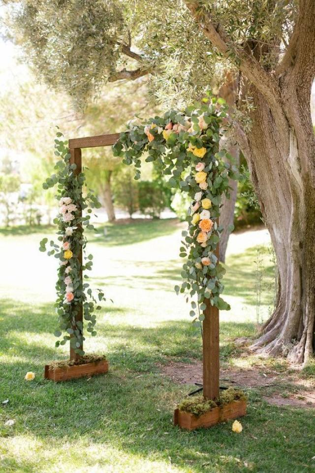 Fall Wedding Arbor