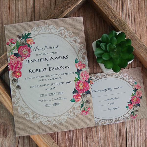 Cheap Wedding Announcements