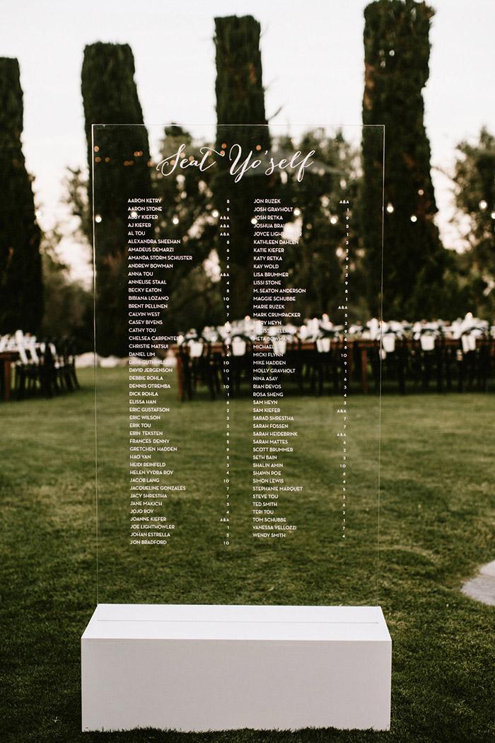 31 Hot Acrylic Wedding Ideas for 2017 Modern Weddings  Elegantweddinginvitescom Blog