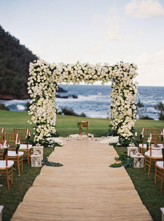 Laser Cut Beach Wedding Invitations