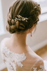 chic updo wedding hairstyles