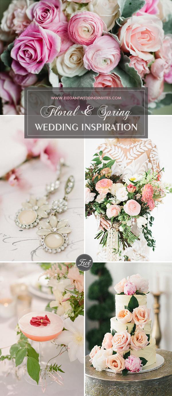 Floral Wedding Dcor Ideas for Spring 2018