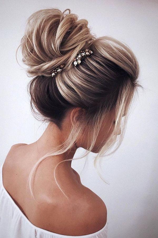 30 Hairstyles Wedding Bun Ideas Hairstyles Ideas Walk The Falls