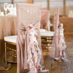 Ruffle Chair Sashes Midnight Blue Covers 45 Awesome Ideas To Decorate Your Wedding Chairs Romantic Dusty Rose Chiffon Ruffles Sash For Weddings