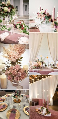 35 Trendy & Romantic All-Time Dusty Rose Wedding Ideas ...