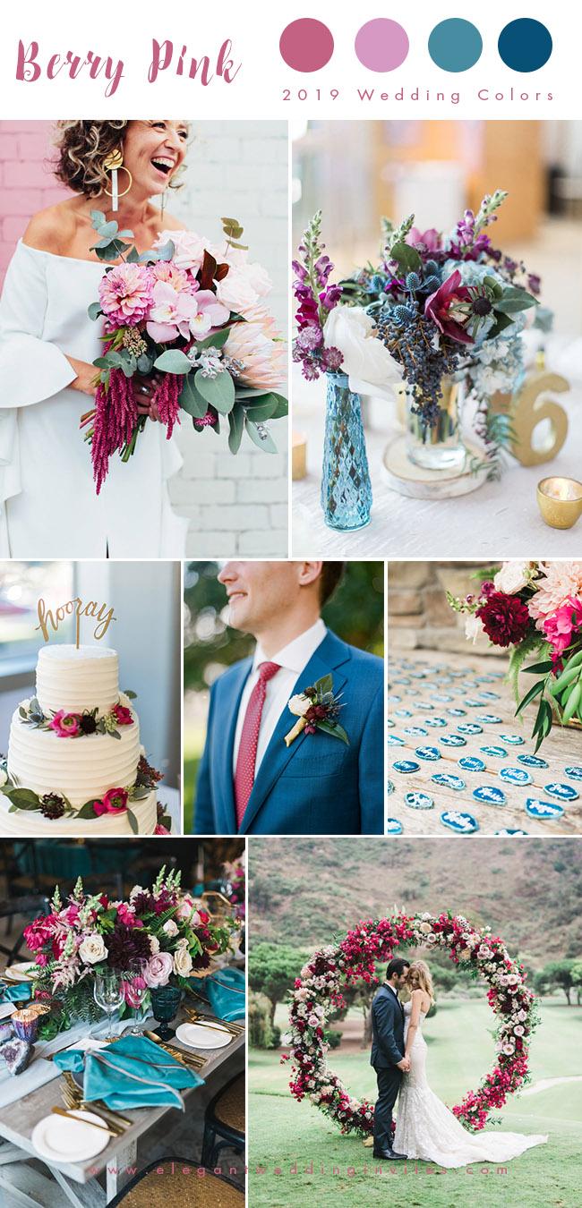 Top 10 Wedding Color Trends We Expect to See in 2019 parteone  Elegantweddinginvitescom Blog