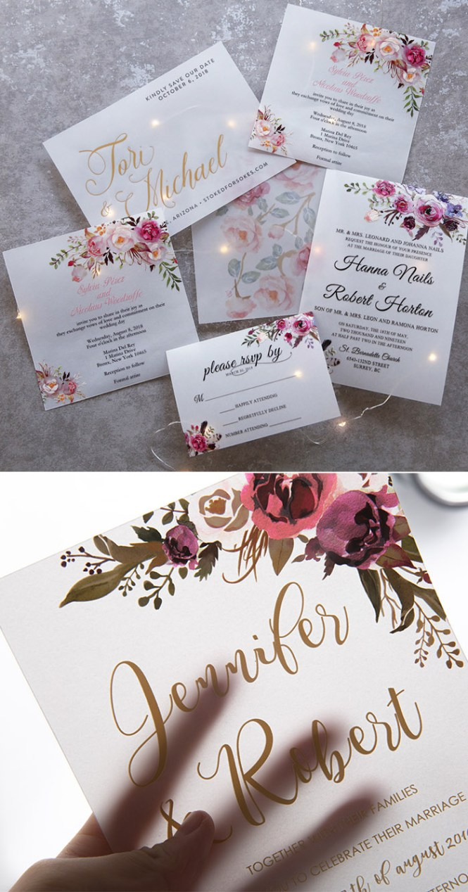 The Hottest Wedding Invitations Trends For 2020