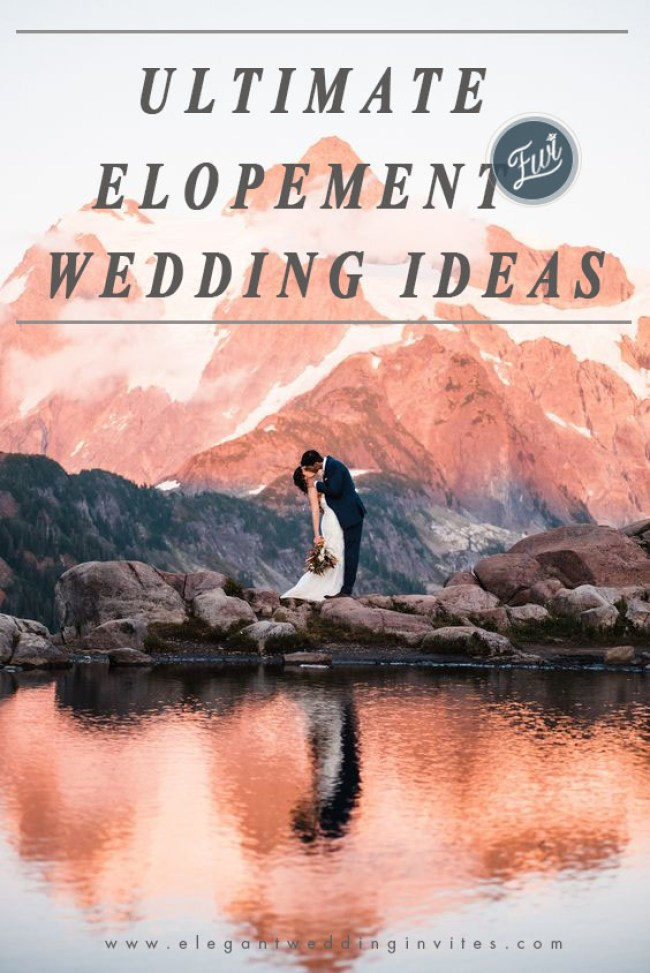 2020 wedding trends for ultimate elopement ideas