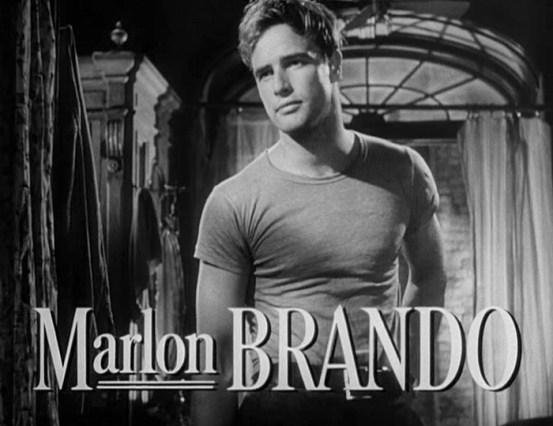 Marlon Brando in 'Streetcar named Desire'