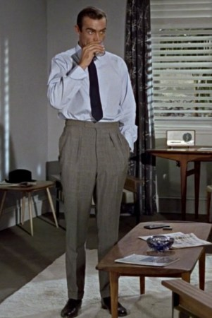 Connery's suit trousers in Dr.