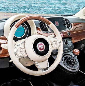 Interni Fiat 500 Riva