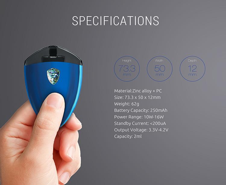 SMOK Rolo Badge Kit Parameter