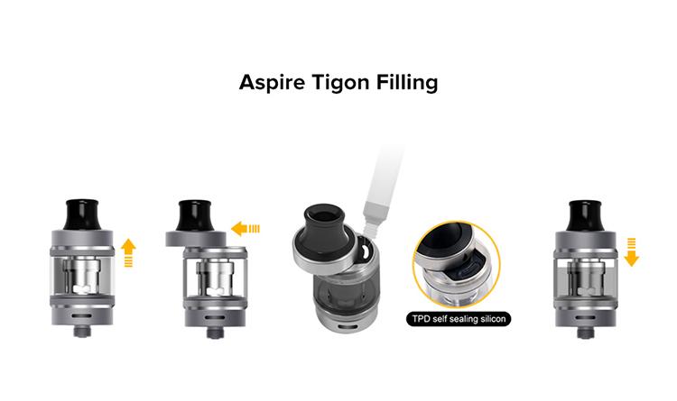 Aspire Tigon Vape Pen Starter Kit 1800mAh/2600mAh