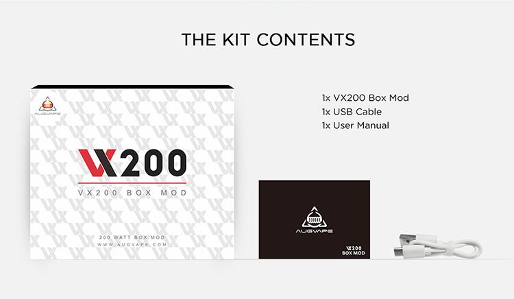 Augvape VX200 TC 200W Box Mod