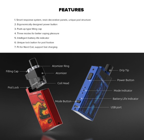 SMOK Trinity Alpha Pod System Kit