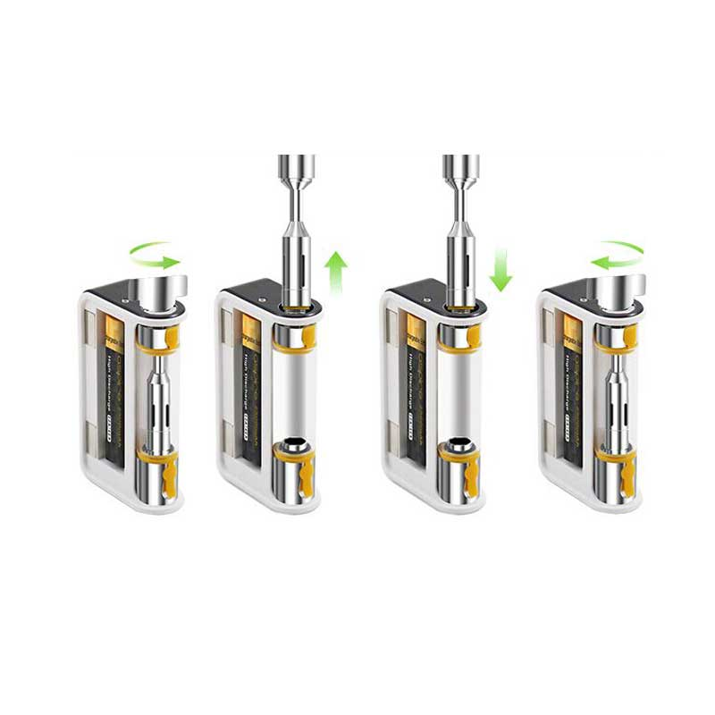 Aspire Plato Cartridge with 0.4ohm Clapton Coils (1 pc)