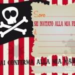 Party kit Pirati gratis per festa a tema