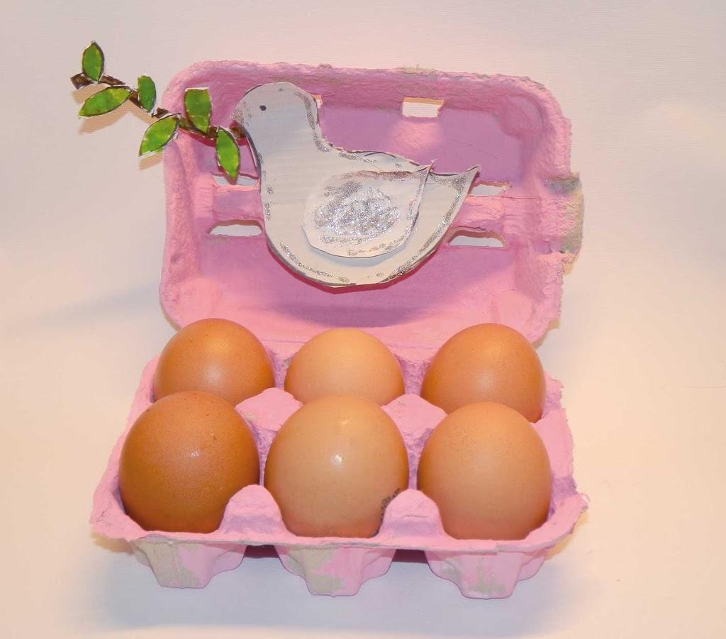 Il porta uova di Pasqua con la Colomba  Elegraf Grafica
