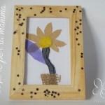 Un fiore in cornice per la mamma