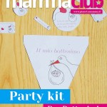 Party kit per il battesimo