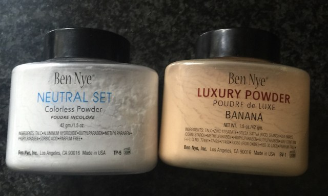 Ben NYE neutral set, Ben NYE luxury banana powder