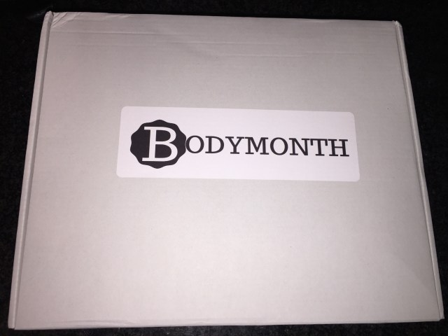 Bodymonth box review