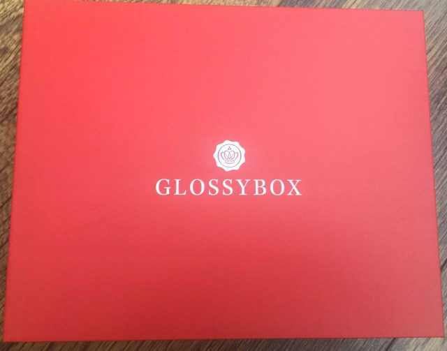 Glossy box Sept'16 Red edition