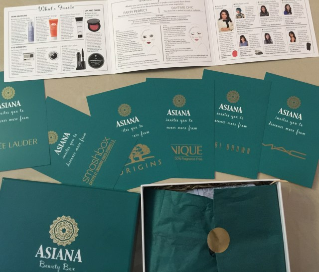 asiana beauty box review