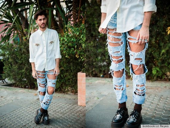 ripped jeans trends