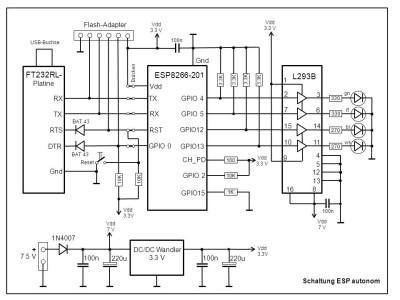 Arduino Stepper Motor Controller DC Motor Controller