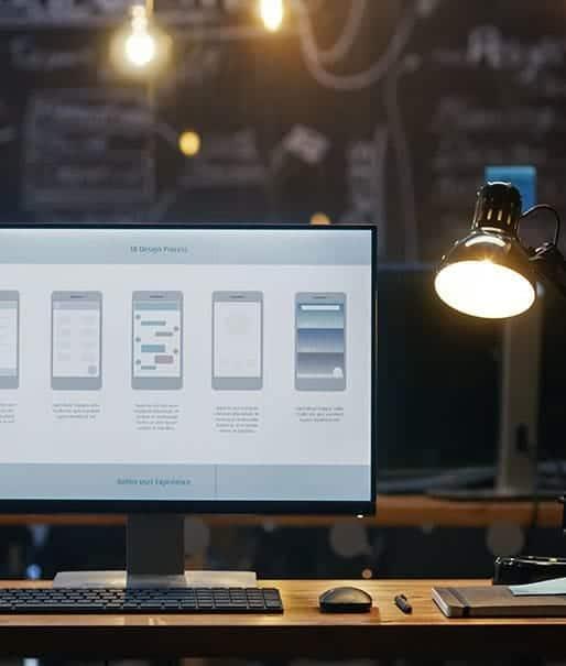 monitor tischlampe