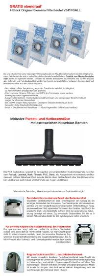 SIEMENS VS06B112A ENERGIE-SPAR BODEN STAUBSAUGER ...