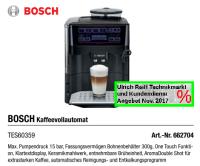 BOSCH TES60359 Kaffeevollautomat