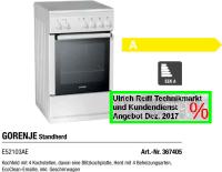 GORENJE Standherd E52103AE