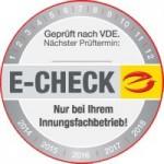 E-Check Prüfplakette_200x200