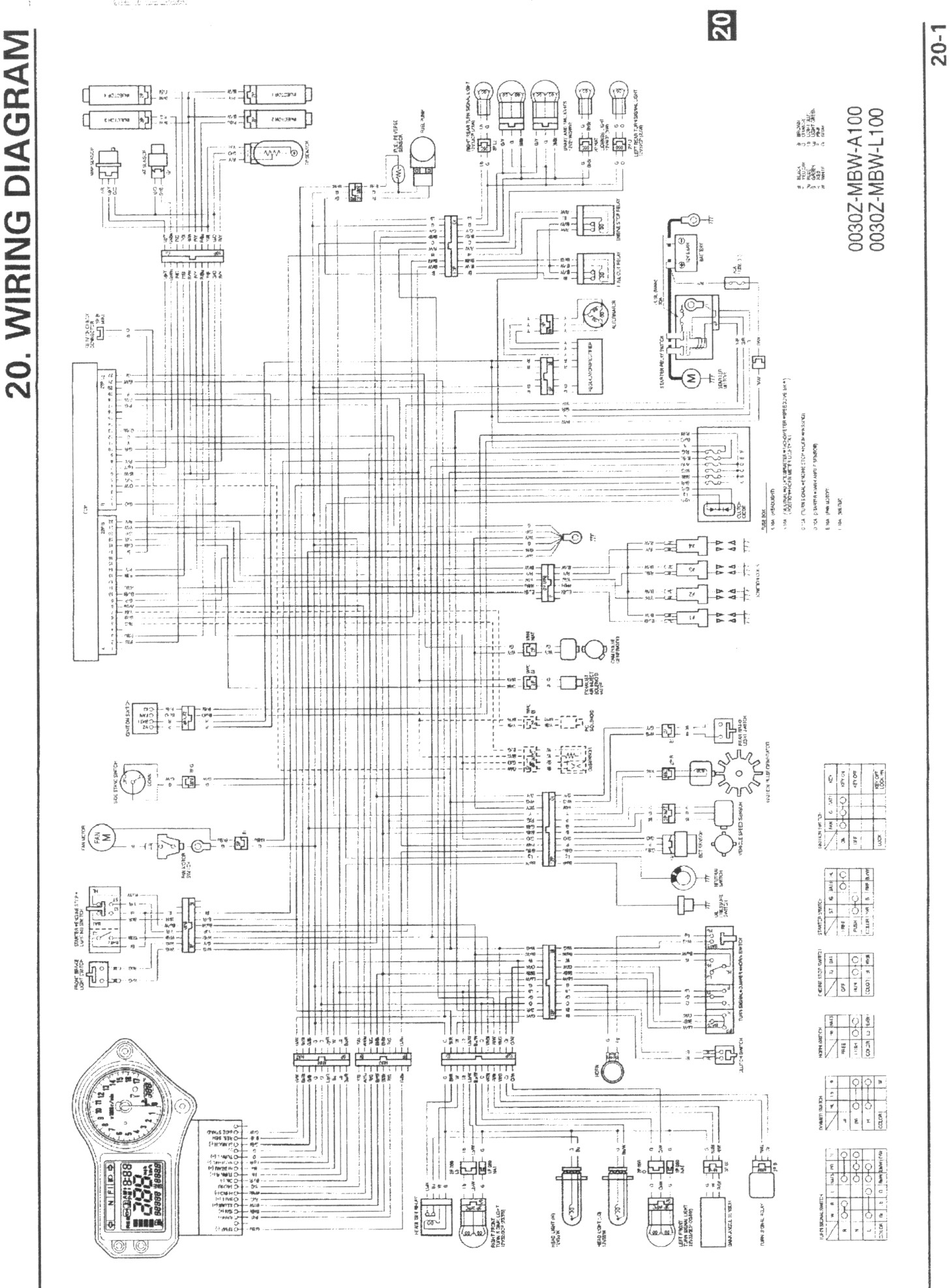 WRG-6786] Honda Cbr 600 F4i Wiring Diagram on