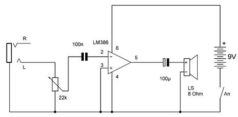 Lm386 Audio Amplifier Circuit, Lm386, Free Engine Image