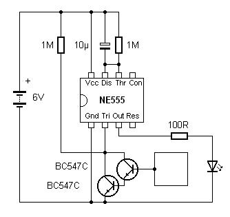 Motion Sensor 555