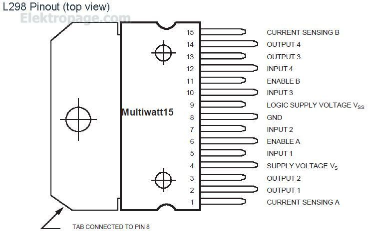 How To Control A DC Motor With An Arduino And L298 bridge