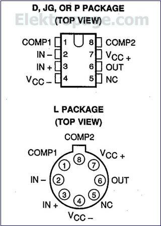 Lm312 Ic Pinout Diagram