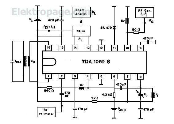 schematic circuit diagram using 7493
