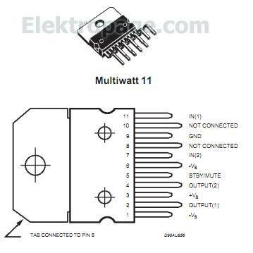 Ic 7447 pin configuration